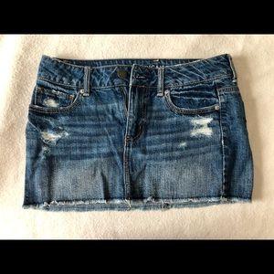 AE Mini Jean Skirt 2